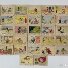 Tebeos: LOTE DE 37 LIBRITOS DE JUGUETES INSTRUCTIVOS MICKEY POR WALT DISNEY. 1936.. Lote 121850439