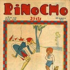 Tebeos: PINOCHO-319 (SATURNINO CALLEJA, 29 DE MARZO DE 1931). Lote 121858915