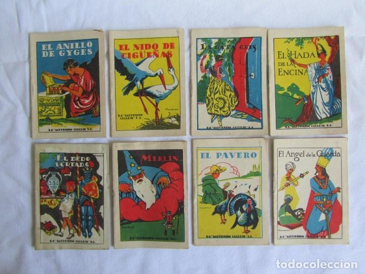 Tebeos: 42 cuentos de Saturnino Calleja 10 x 7 centímetros - Foto 4 - 129089123