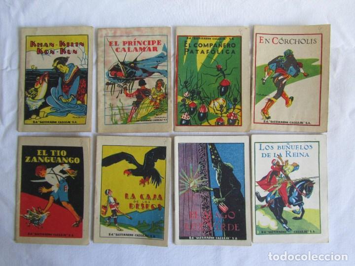 Tebeos: 42 cuentos de Saturnino Calleja 10 x 7 centímetros - Foto 6 - 129089123