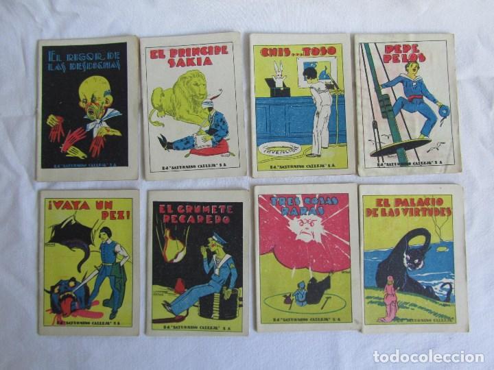 Tebeos: 42 cuentos de Saturnino Calleja 10 x 7 centímetros - Foto 10 - 129089123