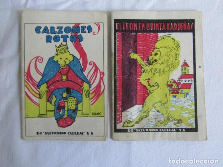 Tebeos: 42 cuentos de Saturnino Calleja 10 x 7 centímetros - Foto 12 - 129089123