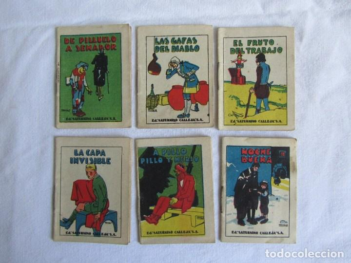 Tebeos: 23 cuentos de Saturnino Calleja, 7 x 5 centímetros - Foto 6 - 129092043