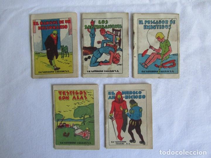 Tebeos: 23 cuentos de Saturnino Calleja, 7 x 5 centímetros - Foto 8 - 129092043
