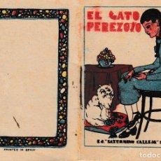 Tebeos: EL GATO PEREZOSO. SATURNINO CALLEJA. LIBRITO. Lote 129109107