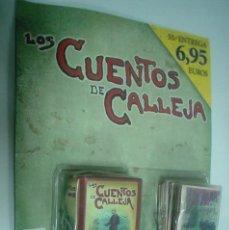 Tebeos: LOS CUENTOS DE CALLEJA - 12 UNIDADES EN BLISTER CON COFRE - RBA. Lote 140234986