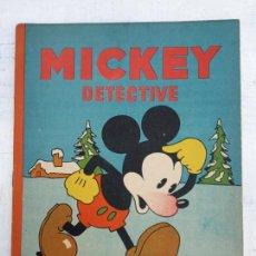 Tebeos: MICKEY DETECTIVE ORIGINAL Nº 12 IMPECABLE - SATURNINO CALLEJA AÑOS 30. Lote 142469394