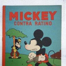 Tebeos: MICKEY CONTRA RATINO ORIGINAL Nº 5 MAGNÍFICO ESTADO SATURNINO CALLEJA AÑOS 30. Lote 142469806