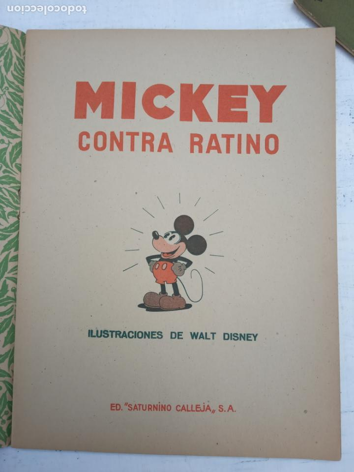 Tebeos: MICKEY CONTRA RATINO ORIGINAL Nº 5 MAGNÍFICO ESTADO SATURNINO CALLEJA AÑOS 30 - Foto 3 - 142469806