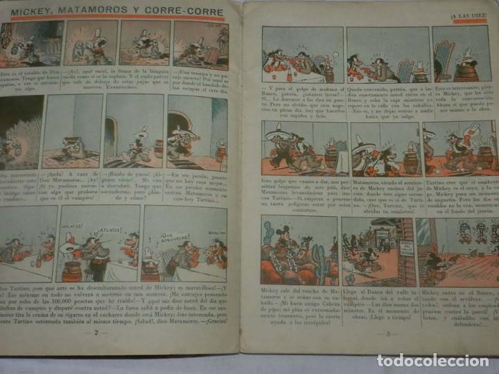 Tebeos: ANTIGUO CUENTO DE SATURNINO CALLEJA S.A. - MICKEY MATAMOROS Y CORRE - CORRE,- ILUSTRACIONES DE WALT - Foto 4 - 145581418