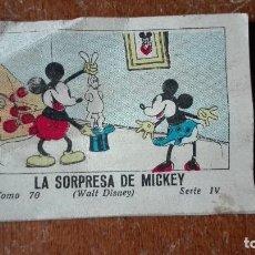 Tebeos: LA SORPRESA DE MICKEY EDITADO SATURNINO CALLEJA AÑO 1942. Lote 145586234