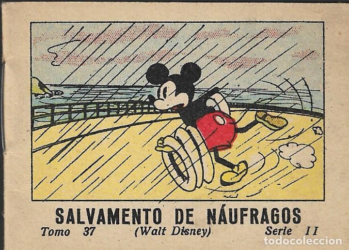 SALVAMENTO DE NAÚFRAGOS - WALT DISNEY - TOMO 37 - SERIE II - ED. SATURNINO CALLEJA, S.A., 1948. (Tebeos y Comics - Calleja)