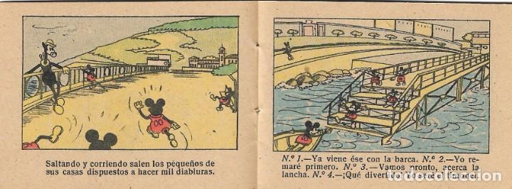 Tebeos: SALVAMENTO DE NAÚFRAGOS - WALT DISNEY - TOMO 37 - SERIE II - ED. SATURNINO CALLEJA, S.A., 1948. - Foto 2 - 147156762