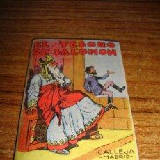 Tebeos: CALLEJA ORIGINAL JUGUETES INSTRUCTIVOS SERIE XIII EL TESORO DE SALOMON . Lote 150506042