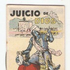 Tebeos: CUENTOS DE CALLEJA - SERIE XV - Nº 286 - JUICIO DE DIOS - JUGUETES INSTRUCTIVOS. Lote 154018578