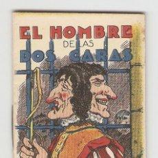 Tebeos: CUENTOS DE CALLEJA - SERIE XV - Nº 285 - EL HOMBRE DE LAS DOS CARAS - JUGUETES INSTRUCTIVOS. Lote 154019018