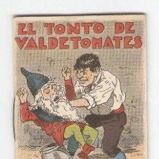 Tebeos: CUENTOS DE CALLEJA - SERIE XV - Nº 284 - EL TONTO DE VALDETOMATES - JUGUETES INSTRUCTIVOS. Lote 154019530