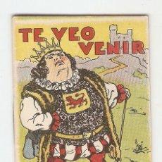 Tebeos: CUENTOS DE CALLEJA - SERIE XV - Nº 283 - TE VEO VENIR - JUGUETES INSTRUCTIVOS. Lote 154019734