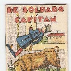 Tebeos: CUENTOS DE CALLEJA - SERIE III - Nº 46 - DE SOLDADO A CAPITÁN - JUGUETES INSTRUCTIVOS. Lote 154379586
