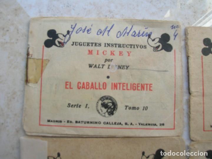 Tebeos: Juguetes instructivos Mickey (Walt Disney) - 8 ejemplares - Saturnino Calleja 1942. - Foto 2 - 168610232