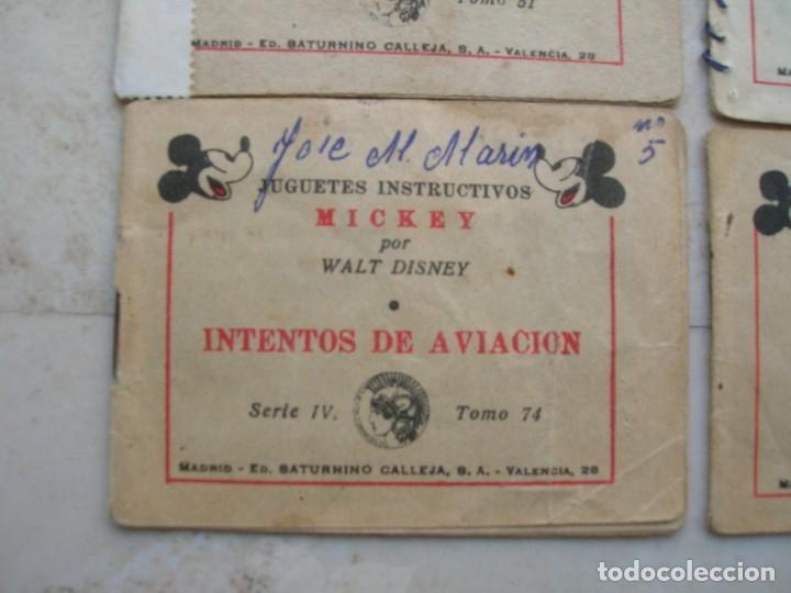 Tebeos: Juguetes instructivos Mickey (Walt Disney) - 8 ejemplares - Saturnino Calleja 1942. - Foto 8 - 168610232