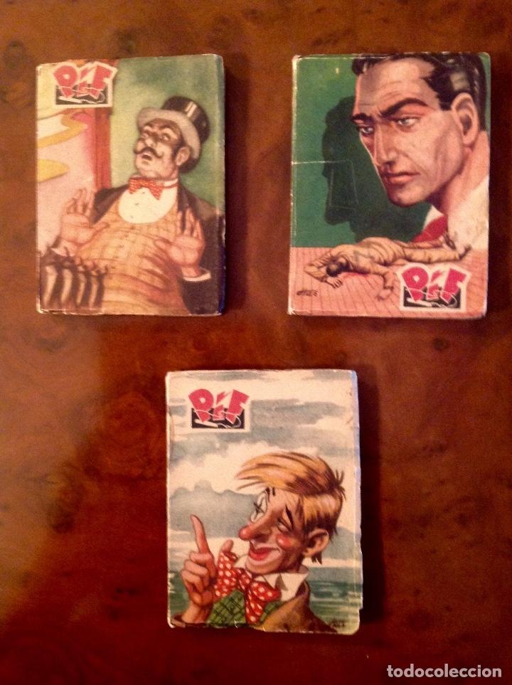 LASINCREIBLES AVENTURAS INSPECTOR PIF-TONY LAY-EL LÁPIZ ROJO-COMPLETA 3 TOMOS-NO ACABADA (Tebeos y Comics - Calleja)