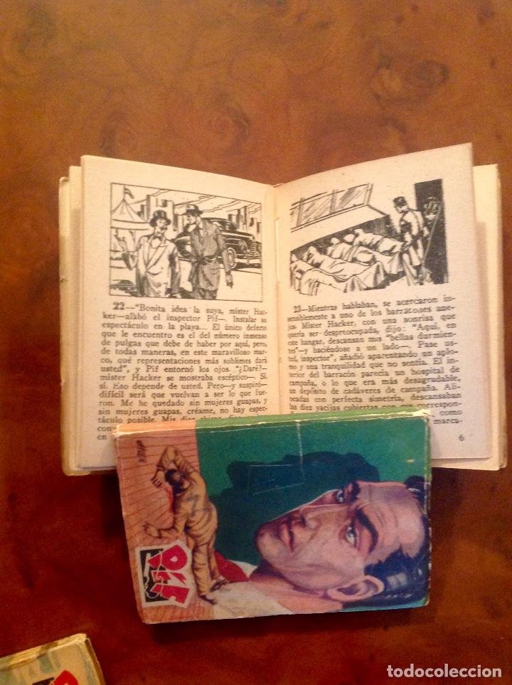 Tebeos: LasIncreibles Aventuras Inspector Pif-Tony Lay-El Lápiz Rojo-Completa 3 Tomos-No Acabada - Foto 4 - 176288277