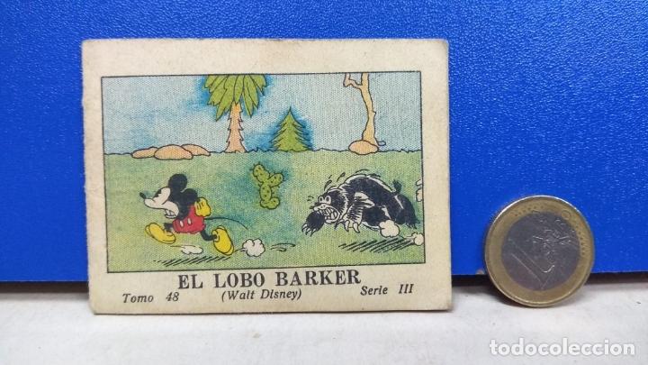 PRECIOSO MINI TBO EL LOBO BARKER MICKEY MOUSE 48 SERIE III WALT DISNEY ED SATURNINO CALLEJA 1936 (Tebeos y Comics - Calleja)