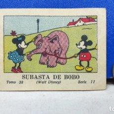 Tebeos: PRECIOSO MINI TBO SUBASTA DE BOBO MICKEY MOUSE 38 SERIE II WALT DISNEY ED SATURNINO CALLEJA 1936. Lote 178131629