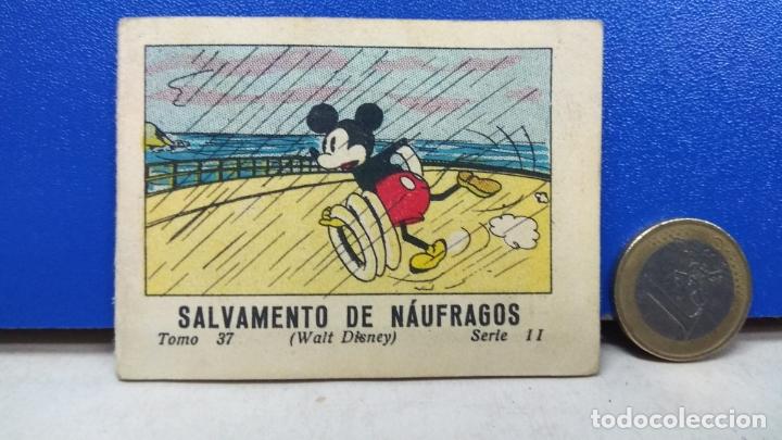 MINI TBO SALVAMENTO DE NAUFRAGOS MICKEY MOUSE 37 SERIE II WALT DISNEY ED SATURNINO CALLEJA 1936 (Tebeos y Comics - Calleja)