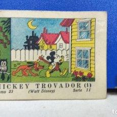 Tebeos: MINI TBO MICKEY TROVADOR MICKEY MOUSE 23 SERIE II WALT DISNEY ED SATURNINO CALLEJA 1936. Lote 178132085