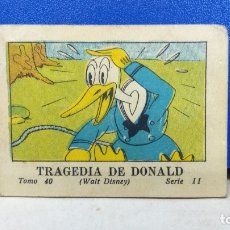 Tebeos: MINI TBO TRAGEDIA DE DONALD MICKEY MOUSE 40 SERIE II WALT DISNEY ED SATURNINO CALLEJA 1936. Lote 178132193