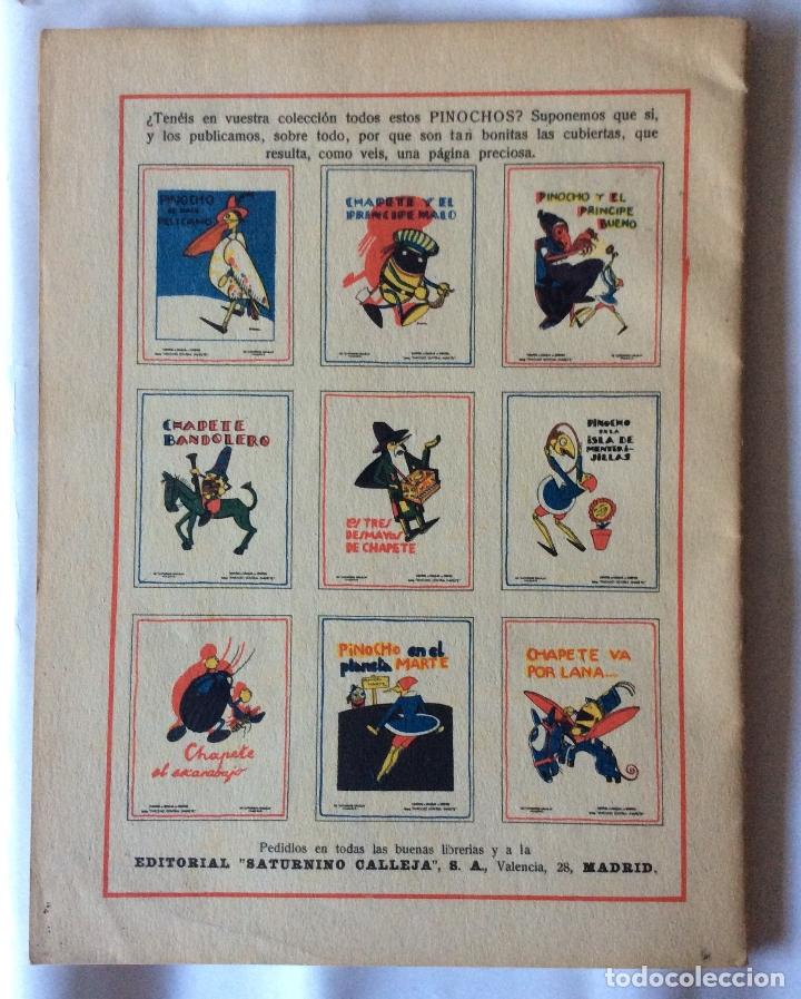 Tebeos: ANTIGUO CUENTO DE PINOCHO EN JAUJA, EDITORIAL SATURNINO CALLEJA - DIBUJOS DE BARTOLOZZI - AÑO 1919 - - Foto 2 - 178143453