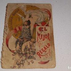 Tebeos: SATURNINO CALLEJA- RECREO INFANTIL - CUENTOS MORALES Nº 220 - EL MEJOR REGALO AÑO 1901. Lote 179392596