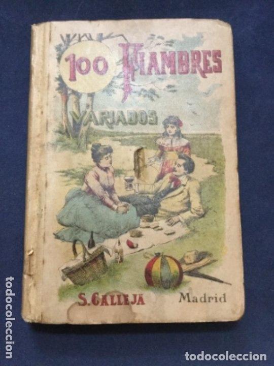 100 FIAMBRES VARIADOS - CALLEJA - 12,2X8,5CM (Tebeos y Comics - Calleja)