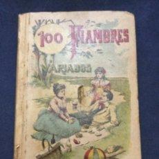 Tebeos: 100 FIAMBRES VARIADOS - CALLEJA - 12,2X8,5CM. Lote 182720901