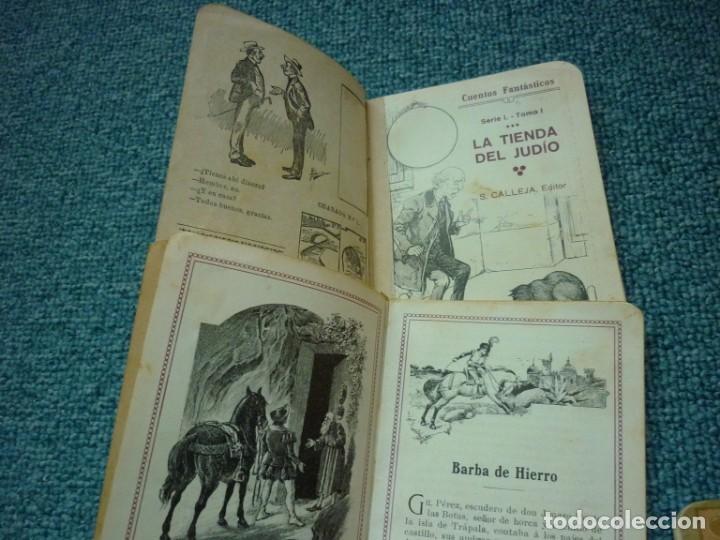 Tebeos: Coleccion de Calleja Cuentos fantasticos de la Serie I. Ediciones muy antiguas. - Foto 3 - 193331262