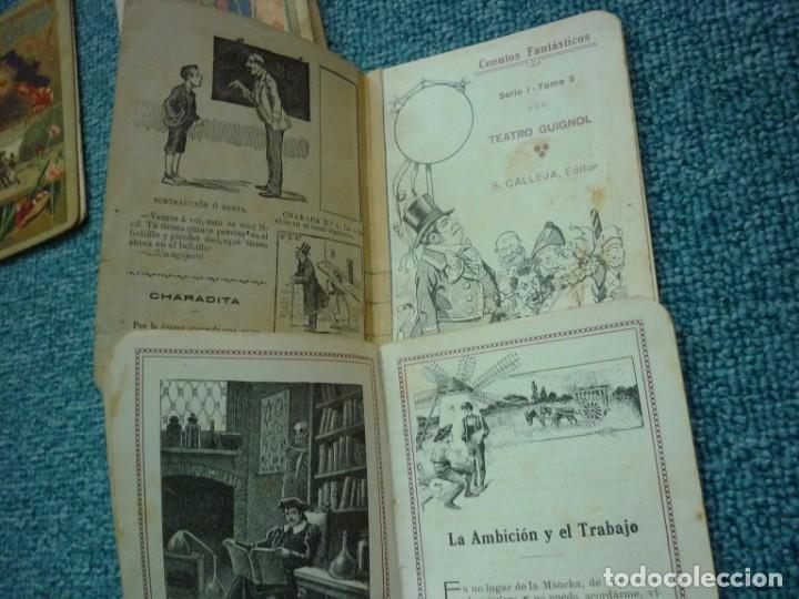 Tebeos: Coleccion de Calleja Cuentos fantasticos de la Serie I. Ediciones muy antiguas. - Foto 4 - 193331262