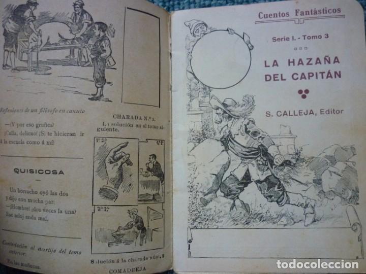 Tebeos: Coleccion de Calleja Cuentos fantasticos de la Serie I. Ediciones muy antiguas. - Foto 5 - 193331262