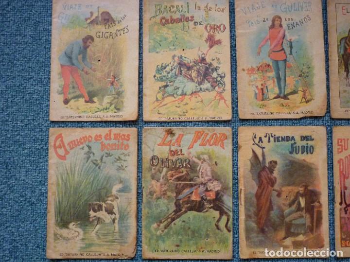 Tebeos: Coleccion de 12 Ediciones muy antiguas de Saturnino Calleja Cuentos para niños - Foto 2 - 193334641