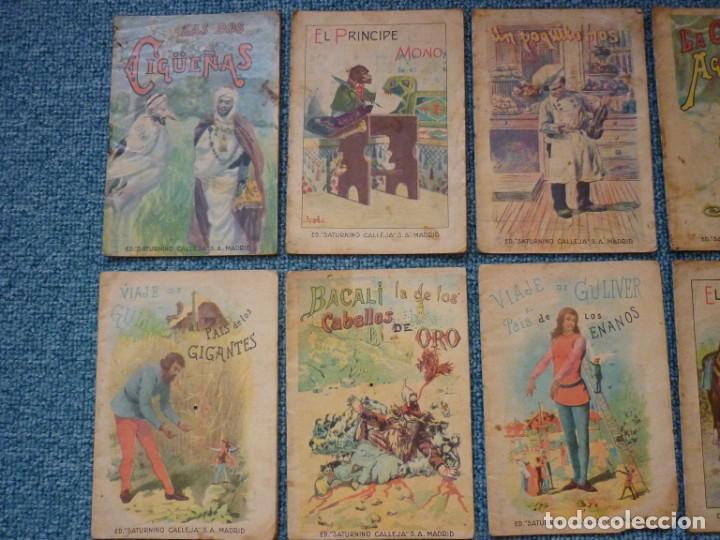 Tebeos: Coleccion de 12 Ediciones muy antiguas de Saturnino Calleja Cuentos para niños - Foto 3 - 193334641