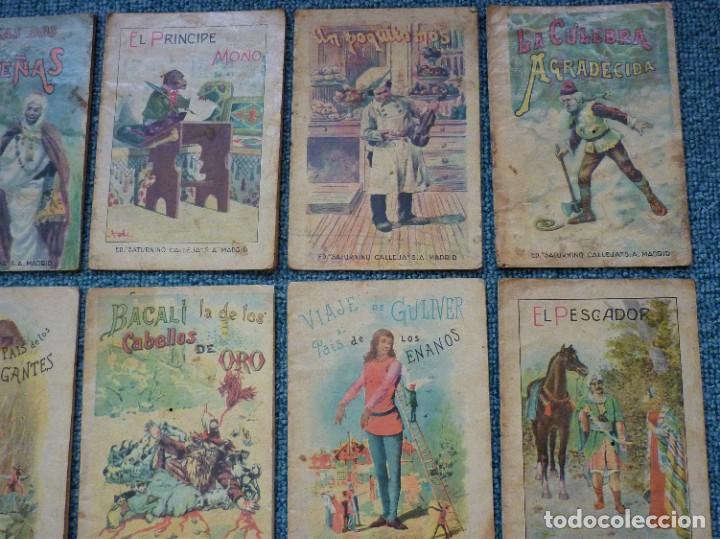 Tebeos: Coleccion de 12 Ediciones muy antiguas de Saturnino Calleja Cuentos para niños - Foto 4 - 193334641