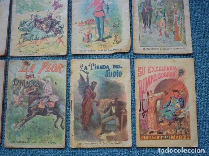 Tebeos: Coleccion de 12 Ediciones muy antiguas de Saturnino Calleja Cuentos para niños - Foto 5 - 193334641