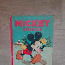 Tebeos: MICKEY DETECTIVE. EDITORIAL CALLEJA Nº 12. 1936. Lote 193564800