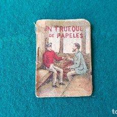 Tebeos: CUENTOS DE CALLEJA UN TRUEQUE DE PAPELES SERIE 10ª Nº-3 - ORIGINAL - NO TIENE HOJAS SUELTAS. Lote 194162590
