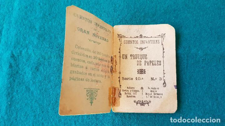 Tebeos: CUENTOS DE CALLEJA UN TRUEQUE DE PAPELES SERIE 10ª Nº-3 - ORIGINAL - NO TIENE HOJAS SUELTAS - Foto 2 - 194162590