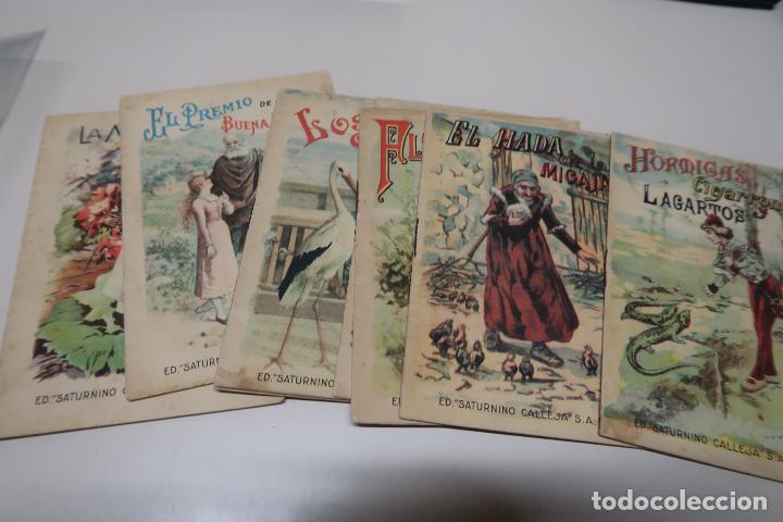 LOTE 24 CUENTOS SATURNINO CALLEJA (Tebeos y Comics - Calleja)
