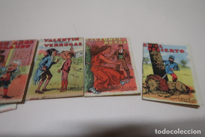 Tebeos: LOTE 7 CUENTOS DE CALLEJA SERIE XIII - Foto 2 - 198232897