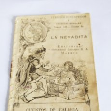 Tebeos: CUENTOS FANTÁSTICOS LA NEVADITA S. CALLEJA.. Lote 201967333