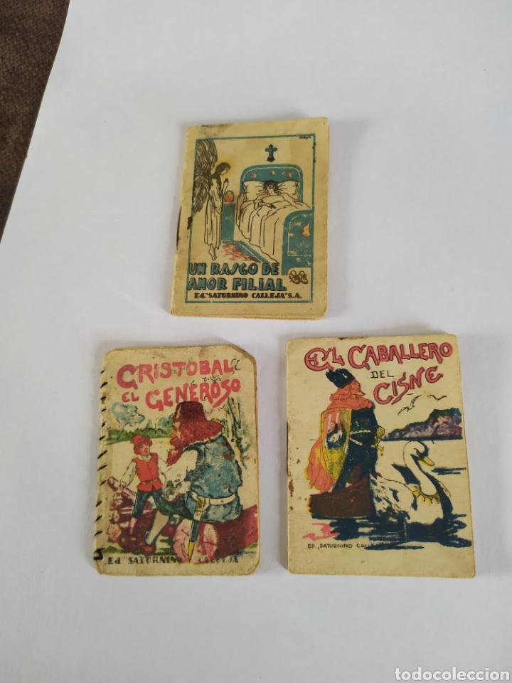 Tebeos: Lote 9 ud . Juegos instructivos de Saturnino Calleja. Ver fotos - Foto 5 - 201991341